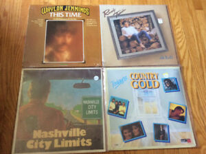 Waylon Jennings, Randy Travis and more Country Records