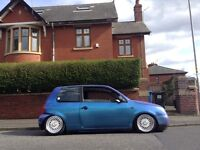 ▀▄▀▄ VW LUPO 1.7 DIESEL AIR SUSPENSION SHOW CAR ▄▀▄▀ MODIFIED STANCE starlet GLANZA Fabia polo Arosa