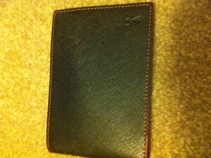 man red Wallet RFID Blocking Credit Card Purse Genuine Leather