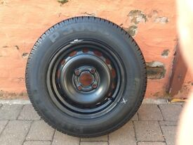 Vauxhall corsa wheel and new tyre