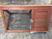 Rabbit hutch and run for sale