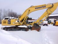 Liquidation of construction equipment