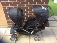 Graco double buggy £50