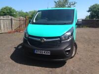 VAUXHALL VIVARO NEW SHAPE 65 PLATE NO VAT