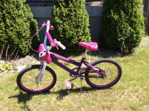 Pink bike for girls (tire size 12 inches)