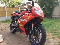 Aprillia rs 125,(11kw), Now sold!!!!