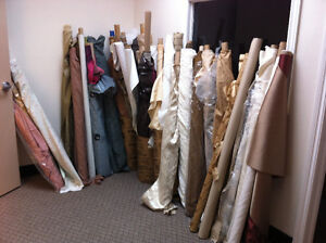 Various Fabric Rolls for Sale