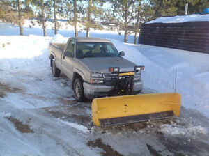 2005 Chev 2500 with plow.