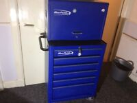 Snap on blue point tool boxes
