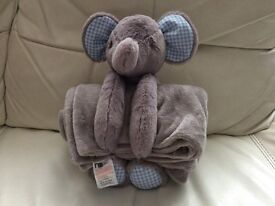 Mothercare Child Toy and Blanket 2 piece set brand new