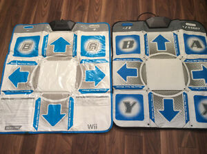 Dance revolution dance pads