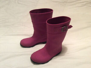 Girls rubber boots, size 13