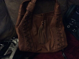 Genuine leather bag, never used