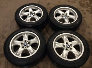"18"" BMW rims in excellent condition with Michelin tires"