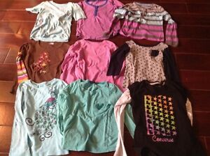 Girls size 10/12 tops