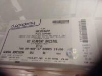 Goldfrapp 1 ticket for sale tonight (9th Nov)