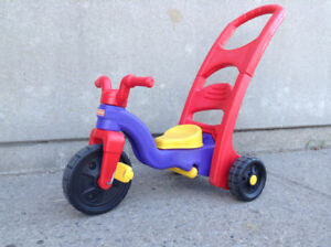 Fisher Price - Rock, Roll n Ride - kids rocker and tricycle