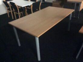 Oak rectangle table