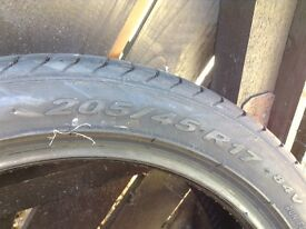 205 45 r17. Really good 17 tyres 20545r17