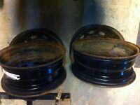 15in Steel wheels for 03 + corolla