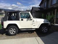1998 Jeep TJ Sport -- Come Buy Me Now!