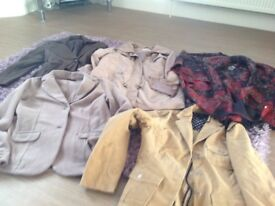 5 ladies jackets as new size 14 £16 the lot