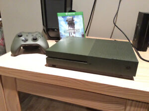 Xbox one S(1To) Edition Spéciale Vert militaire!
