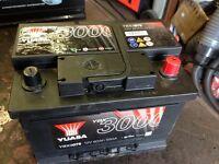 Car battery yuasa ybx3 075
