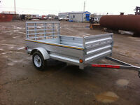 2014- 7ft x 5ft Galvanized Utility Trailer for Sale