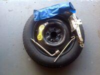 Spacsaver spare tyre c/w jack and brace Volvo V40 2003