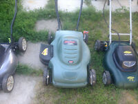 Electric lawnmower 3 to pick from