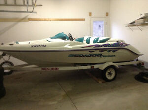 Seadoo 110 HP 14ft with trailer