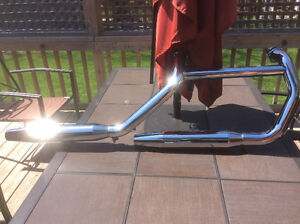 Harley Davidson Sportster 883 Stock Exhaust Pipes