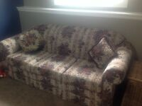 Awesome flowery sofa for sale!!