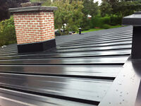 BEST QUALITY PRICE RBQ INSTALLED STEEL ROOFING