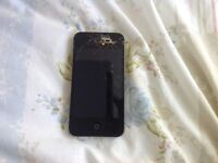 Iphone 4s 16GB Needs repairing.