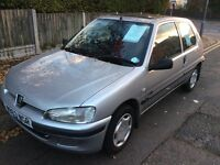 Peugeot 106 SN zest 1.1 ideal first car cheap tax and insurance great on fuel