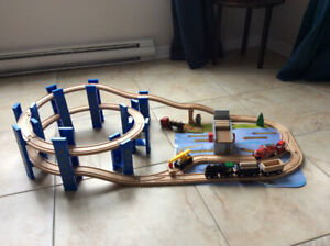 Train en bois imaginarium express