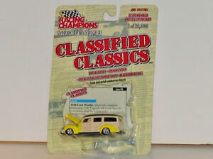 Racing Champions 1940 Ford Woodie 1:64 Diecast