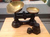 Librasco vintage weighing scales