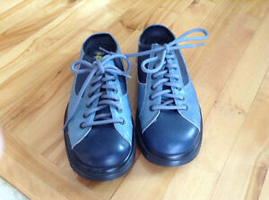 Dr. Martens Blue Leather Clogs New Without Box St. John's Newfoundland image 2
