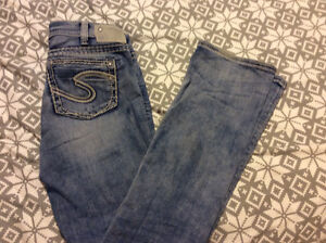 Silver jeans  size 30 x 33  womens
