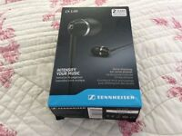 SENNHEISER CX1.00 NOISE BLOCKING EAR CANAL PHONES !