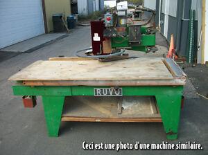RUVO AUTOMATION CORP MODEL 9710 découpeur de porte