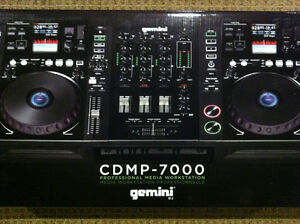Gemini CDMP 7000 Professional Media DJ Workstation