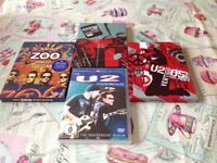 COLLECTION OF U2 DVDS