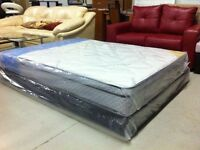 HOTsale--Brand new double euro top mattress $199up(free delivery