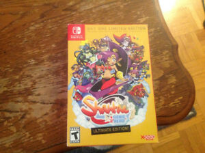 Shantae Half Genie Hero Ultimate Edition For Nintendo Switch