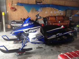 Yamaha viper mtx only 5km and Arctic cat 120