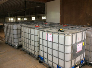Food friendly 1000 litre storage containers.